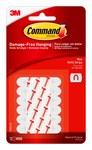 3M Command Foam White Decorating Clip Refill Strip - 70524