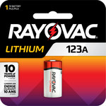 Rayovac Photo Battery - Single Use Lithium 123A - RL123A-1G