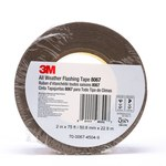 3M 8067 Tan Flashing Tape - 2 in Width x 75 ft Length - 9.9 mil Thick - 98302