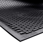 Shipping Supply Black Mats - 10 ft x 3 ft - SHP-13894