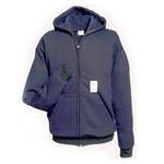 Chicago Protective Apparel Large Sweatshirt Arc Flash Shirt - Long Sleeve - 615-USFN LG