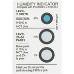 Shipping Supply White Humidity Indicators - 3 in x 2 in - SHP-8368