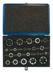 Greenfield Threading 377 Hexagon Rethreading Die Set - Right Hand Cut - Carbon Steel - 403595