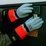Ansell Yellow 9 Techcor Mechanic's Gloves - Polyurethane Palm Coating - 13896