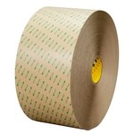 3M 9668MP Clear Transfer Tape - 24 in Width x 180 yd Length - 5 mil Thick - Polycoated Kraft Paper Liner - 68433