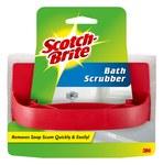 3M Scotch-Brite 7723 Bath Scrub - 5.8 in Overall Length - 3.8 in Width - 01010