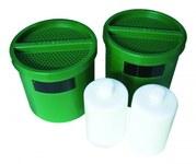 Justrite Green/White Carbon Cartridge - 697841-20245