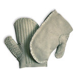 Chicago Protective Apparel Large Leather Protective Mitt - CPA 1681 LG