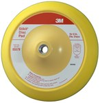 3M 05579 Medium Blue Stikit PSA Disc Pad - 8 in Diameter - 5/16-24 Internal Thread Attachment