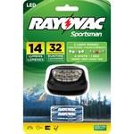 Rayovac Sportsman Headlamp - 14 Lumens 5 LEDs Red, White - (3) AAA 2 Modes - SE5LEDHLT-BA