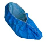 Epic Blue Large Cleanroom Shoe Covers - ISO Class 5 Rating - Polyethylene/Polypropylene Upper - 536783-L