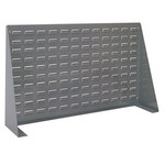 Akro-Mils Akrobin 750 lb Gray Cold Rolled Steel 16 ga Single Sided Louvered Panel - 52 in Overall Length - 5/16 in Width - 34 1/8 in Height - 30655 PANEL