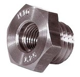 Weiler 5/8-11 in to M10 x 1.25 Adapter - Use With Vortec Pro Crimped Wire Cup Brush - 36052