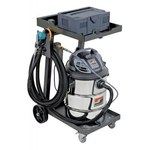 Dynabrade Mini Raptor Vac 120v Portable Vacuum System - 26 in Overall Length - 26 in Width - 46 in Height - 10029