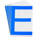 Brady Toughstripe 121719 Blue Polyester Letter Label - Indoor - 6 in Width - 8 in Height - 8 in Character Height - B-514