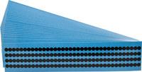 Brady Quik-Dots QD-25-BK Black Dot Marking Label - 49312