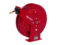 Reelcraft Industries 7000 Series Hose Reel - 50 ft Hose Included - Spring Drive - 7650 OLP