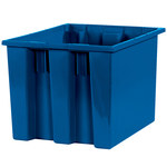 Blue Stack & Nest Containers - 17 in x 14.5 in x 12.875 in - SHP-3043