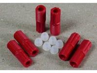 Justrite ETFE Compression Fitting Kit - 25 mm Length - 3 mm OD - 697841-15299