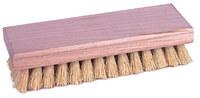 Weiler 440 Square Hand Scrub Brush - White Tampico Coarse Bristle - Hardwood Block - 44024