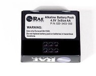 RAE Systems PGM-2400 Battery Assembly 020-3403-000 - Alkaline