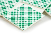 3M Scotch 111/DC White Indoor Mounting Squares - 1 in Width x 1 in Length - 01054