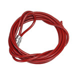 Brady Red Lockout Cable 45350 - 10 ft Length - 754476-45350