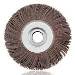 Dynabrade Coated Aluminum Oxide Flap Wheel - 4 in Face Width - 4 in Diameter - 3/4 in Center Hole - 90851