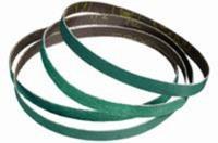 Standard Abrasives A/Z Alumina Zirconia AZ Green Sanding Belt - Polyester Backing - YF Weight - 36 Grit - Extra Coarse - 1/2 in Width x 18 in Length - 580001