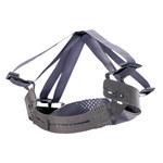 MSA V-Gard Black Polypropylene, Nylon, PVC Suspension Liner - 641817-00761