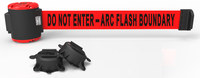 Banner Stakes Red Wall Mount Magnetic Belt Barrier - BANNER STAKES MH5011