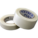 Polyken White Aerospace Tape - 1 in Width x 100 ft Length - 1.9 mil Thick - 36H 1 X 100FT WHITE