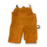 Chicago Protective Apparel Brown Large Leather Heat-Resistant Overalls - 618-CL LG