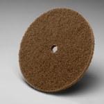3M Scotch-Brite CP-DC Aluminum Oxide Deburring Disc - Very Fine Grade - Arbor Attachment - 6 in Diameter - 1/2 in Center Hole - 05285