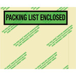 Environmental Clear Face Document Envelopes - 4.5 in x 5.5 in - 2 Mil Poly Thick - SHP-8247