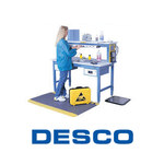 Desco Trustat Large White ESD / Anti-Static Jacket - 04653