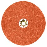 3M Cubitron II 987C Ceramic Quick Change Disc - Fibre Backing - 60+ Grit - 5 in Diameter - 87364
