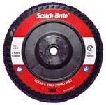 3M Scotch-Brite Clean & Strip XT Pro Disc - Silicon Carbide - 7 in Diameter - Type 27 Quick Change