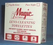 Braco Manufacturing Pure Sight Lens Cleaning Towelette - 1000 Tissues/Towelettes - Anti-Fog - 5 in Width - 8 in Length - TW100B