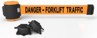 Banner Stakes Orange Wall Mount Magnetic Belt Barrier - BANNER STAKES MH5013
