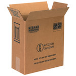 Shipping Supply Kraft 1 Gallon Plastic Jug Haz Mat Boxes - 12 in x 6 in x 12.75 in - SHP-2220