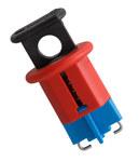 Brady Red Fiberglass Reinforced Nylon Circuit Breaker Lockout System 90847 - Pin Style - 0.95 in Width - 662820-04636