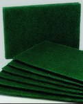 AbilityOne Skilcraft Scouring Pad - 9 1/2 in Overall Length - 6 in Width - 5242
