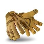 HexArmor Hex1 2120 Tan 9 Synthetic Leather Work Gloves - Silicone Palm Coating - 2120-TAN SZ 9