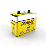Rayovac Heavy Duty Lantern Battery - Single Use Zinc Chloride 6V - 944-2R