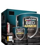 Dupli-Color Bed Armor BAQ2010 Black Bed Liner - Liquid 1 qt Can - 84493