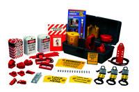Brady Prinzing Gray Lockout/Tagout Kit - 754476-45626
