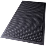 Shipping Supply Black Bubble Mats - 24 in x 18 in - SHP-13773