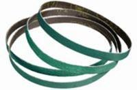 Standard Abrasives A/Z Alumina Zirconia AZ Green Sanding Belt - Polyester Backing - YF Weight - 120 Grit - Fine - 1/2 in Width x 18 in Length - 580013