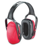 Howard Leight Mach Red Over Head Protective Earmuffs - 18 dB NRR - 1010421